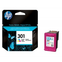 Cartus cerneala color original HP CH562EE, HP 301