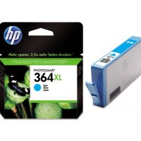 Cartus cerneala cyan original HP CB323EE, HP 364XL